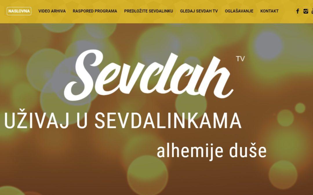 Sevdah TV sada ima jednostavnu web stranicu sa opcijom slanja sevdalinki!